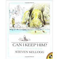 Can I Keep Him? (by Steven Kellogg) 我能留下他么 ISBN978014054867