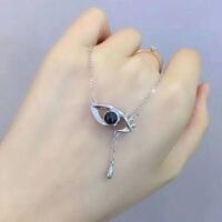 纯银天使之眼爱的记忆项链100种语言我的眼里只有你抖音网红同款礼品