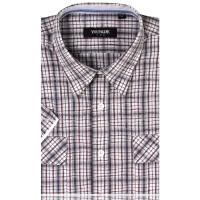 YOUNGOR雅戈尔全棉修身版短袖衬衫SXX11210-42
