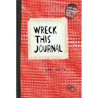 【预订】Wreck This Journal (Red)