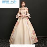 贵族小姐宫廷服艺考服装田园主持人合唱团维多利亚典雅舞台礼服