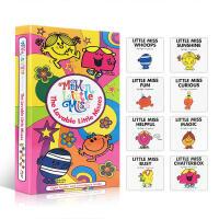 英文原版 The Lovable Little Misses 妙小姐8 礼盒装 逗趣幽默 亲子阅读绘本 奇先生妙小姐系