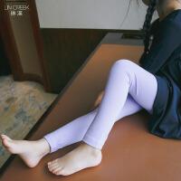 儿童打底裤童装春装2018新款韩版女童糖果色裤宝宝弹力小脚铅笔裤
