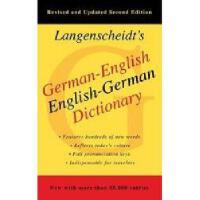 【预订】Langenscheidt's German-English Dictionary