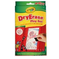 [Crayola绘儿乐]干擦白板蜡笔游戏组合套装(赠干擦布)98-5195