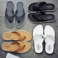 新款人字拖男潮流夏天休闲简约夹脚凉拖鞋男防滑耐磨沙滩鞋
