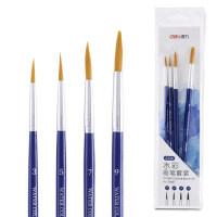 水粉画笔笔刷水粉水彩丙烯颜料笔勾线笔油画笔刷单双号套装