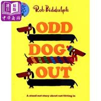 【中商原版】Rob Biddulph:奇怪的狗OddDogOut精品绘本RobBiddulph