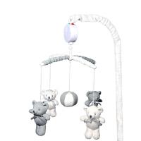 葵普家婴儿床铃音乐旋转婴儿0-6-12个月宝宝摇铃新生儿挂铃床铃儿童节礼物 +支架