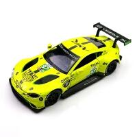 1:32仿真赛道版4 DT拉力赛车合金车模跑车儿童玩具车汽车模型礼 黄色 宾利97号黄