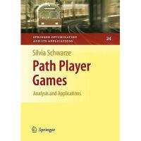 【预订】Path Player Games: Analysis and Applications