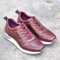 DAZED CONFUSED 秋冬新款运动休闲鞋子潮流舒适男士皮鞋时尚透气牛皮跑鞋男鞋