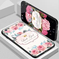 苹果6手机壳iPhone6splus女款玻璃6s