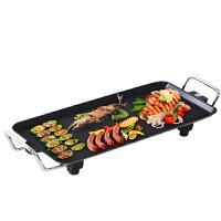韩式烧烤炉 煎烤炒煮电烤炉 无烟不粘锅烧烤盘 家用健康环保便携电烤盘
