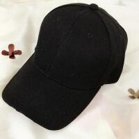 春季帽子男士棒球帽英伦休闲韩版潮鸭舌帽女黑色嘻哈帽太阳帽