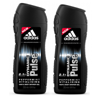 Adidas阿迪达斯男士沐浴露250ml 两支套装 激情0330