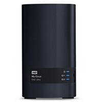 WD/西部数据 My Cloud EX2 Ultra系列云存储 4T网络硬盘4TB NAS WDBVBZ0040JCH