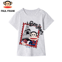 PMU1823069大嘴猴(paul frank)儿童纯棉短袖夏款卡通T恤