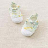 戴维贝拉春夏新款女宝宝步前鞋婴儿鞋DB6735