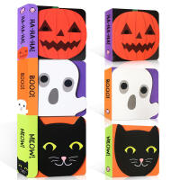 【全店300减100】英文原版 Chunky Pack: Halloween 万圣节节日庆典 绘本 3册合售纸板书撕不烂
