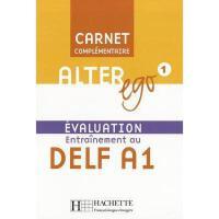 【预订】Alter Ego Level 1 Carnet D'Evaluation Delf A1