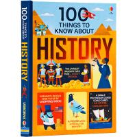 预售 关于历史的100件事 Usborne大发现系列 100 things to know about History