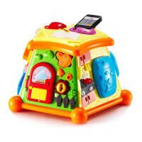 生活体验馆 1-3岁智能玩具 多功能积木玩具 早教宝宝力游戏台生日礼物