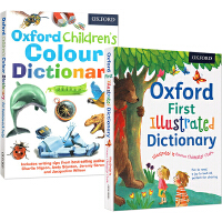 (100减20)【2000词】Oxford First Illustrated Dictionary/Oxford Children's Colour Dictionary 牛津插画版单字词典2本组合