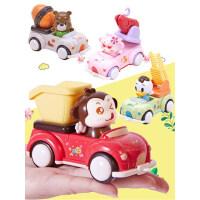 回力车惯性工程车套装大号耐摔男孩宝宝1-2-3岁4儿童小汽车玩具车