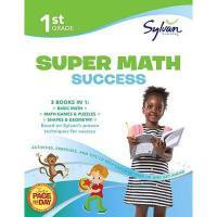【预订】First Grade Super Math Success (Sylvan Super