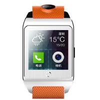 inWatch Z 独立通讯智能手表 智能手表手机 500万高清拍摄 银色表盘配橙色表带