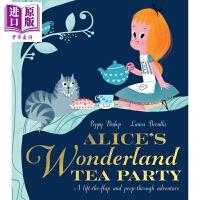 【中商原版】Laura Brenlla :爱丽斯梦游仙境与茶党 Alice's Wonderland Tea Party