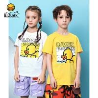【3折价:68.7】B.Duck小黄鸭童装男女童圆领短袖T恤 BF2101909