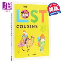 【中商原版】B. B. CRONIN:The Lost Cousins乱跑的小表弟 精品绘本 低幼亲子故事绘本 精装 英