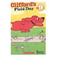 英文原版Clifford's Field Day大红狗的运动会