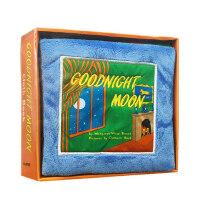 【顺丰速运】进口英文原版正版 Goodnight Moon 月亮晚安 Cloth Book 宝宝触摸布书启蒙玩具趣味亲