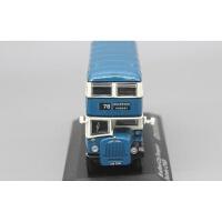 英国双层巴士模型车1:76丹拿Daimler CVG6公交客车 香港九龙巴士品质定制新品 蓝色78号现货