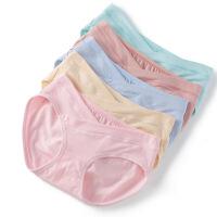 孕妇内裤低腰内裆透气春夏装托腹短裤孕妇内衣怀孕期夏季春装 三条装(颜色随机)
