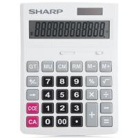 夏普CH-D12计算器双重电源轻巧按键 办公中号台式计算机