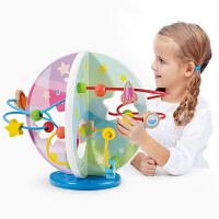 婴幼儿童星球绕珠8个月宝宝力串珠男孩女孩早教玩具1-2-3周岁