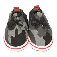 美国直邮/保税区发货 Robeez Cool and Casual CaMo 男童软底学步鞋迷彩帆布休闲鞋 迷彩色 海