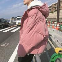 棉衣男士外套秋冬新款加厚保暖宽松休闲韩版面包服潮
