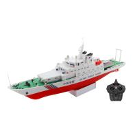 儿童玩具船 遥控船轮船电动快艇中天模型船模中国海警船军舰