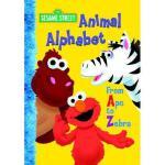 Animal Alphabet: From Ape to Zebra 英文原版 芝麻街:字母表 纸板书 (Sesame