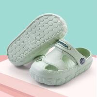夏季儿童洞洞鞋女宝宝室内凉拖鞋男童婴幼儿可爱小公主