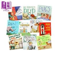 【中商原版】小飞船喜爱故事包 New Frontier Favorite Stories Pack 10册 幼儿绘本故事
