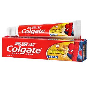 [当当自营] 高露洁 儿童牙膏水果香型(蜘蛛侠)