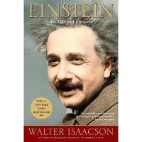 【进口现货】英文原版 Einstein: His Life and Universe 爱因斯坦传记:他的生活和宇宙 平