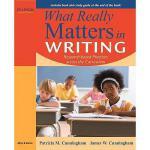 【预订】What Really Matters in Writing: Research-Based