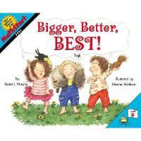 【预订】Bigger, Better, Best!